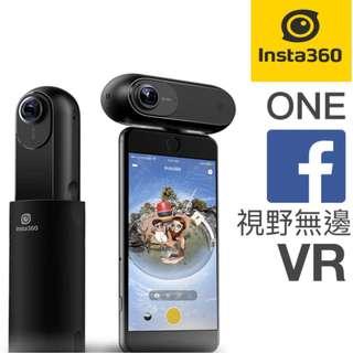100%全新   insta 360 one Cam 全景相機 VR