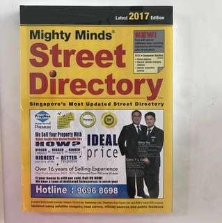 Latest 2017 edition street directory