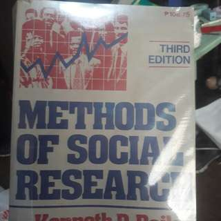 Methods of Social Research 3rd ed by Bailey