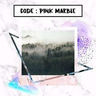 Polaroid Photo Printing - Pink Marble