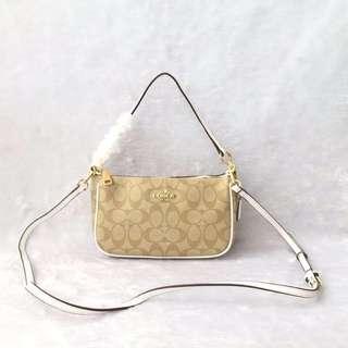 Coach top handle bag