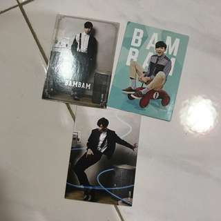 Got7 BamBam Star Collection Card