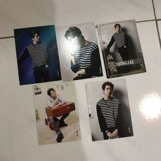 Got7 Youngjae Star Collection Card