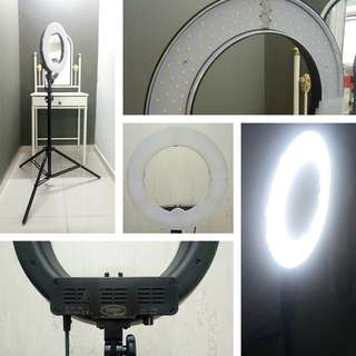 READYSTOCK! BRANDNEW 12 INCH PROFESSIONAL STUDIO LED RING LIGHT