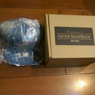 🚚 (正品)Hater Snapback 版帽