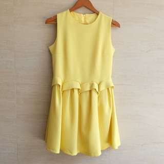 Hongkong YELLOW Dress