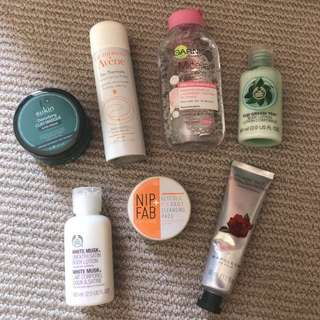 Skincare Bundle, most NEW