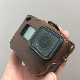 [Pre Order] Leather Case for Gopro Hero 5/6