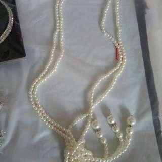 Kalung mutiara import/kalung wanita/