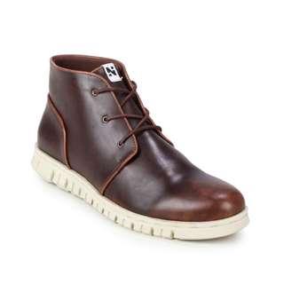 Sepatu Boots Pria Original Navara Paul Brown