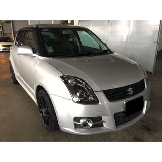 19/01 - 22/01 SUZUKI SWIFT SPORTS MANUAL ONLY $180.00 ( P PLATE WELCOME)