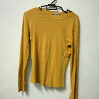 Marks & Spencer Mustard Top UK8