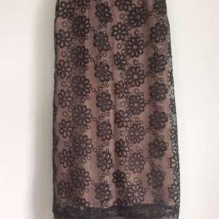 Burnout Lace dress