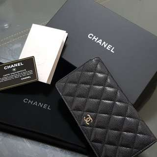 Chanel Yen Long Wallet