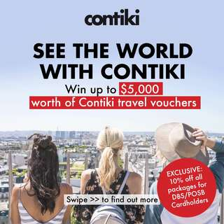 List & Win Contiki Vouchers!