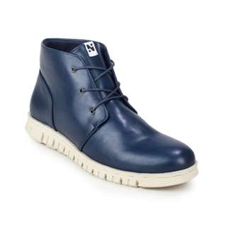 Sepatu Boots Pria Original Navara Paul Blue