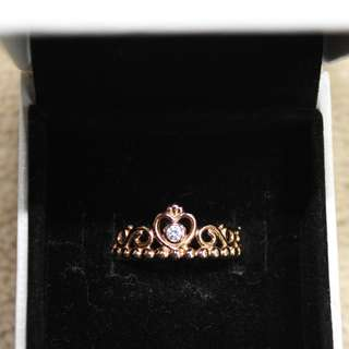 Rose Gold Pandora Tiara Ring