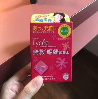 rohto lycee eyedrops from Japan!