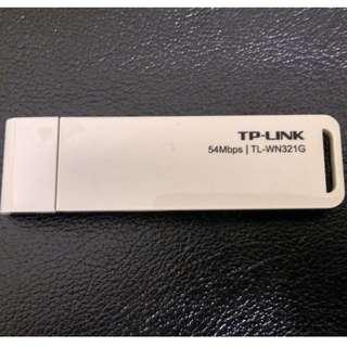 TP-Link TL-WN321G 54Mbps wifi 接收