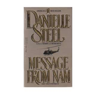 BF: Message From NAM Danielle Steel - paperback