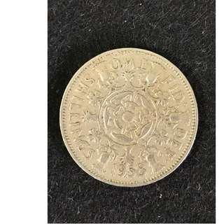 1958 United Kingdom Coin 👘 Britain