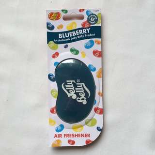 Jelly Belly blueberry car freshener