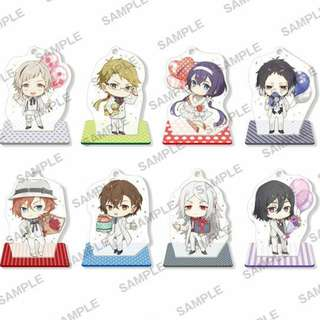 [PO] Bungou Stray Dogs DEAD APPLE - Acrylic Stand Figure 8-Pack box