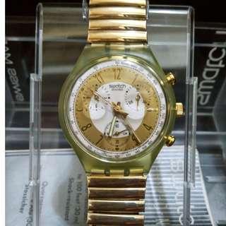 SWATCH Golden Globe Chrono Watch