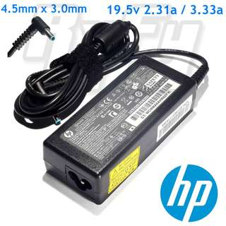 HP 45w 65w 19.5V 2.31a 3.33a AC Power Supply Adapter Charger