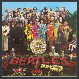 The Beatles - Sgt. Pepper's Lonely Hearts Club Band Picture