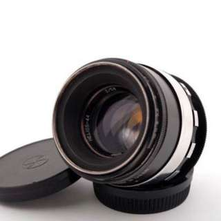 RARE Helios 44-2 ZEBRA adapted to Nikon F mount. Infinity focus without adaptors