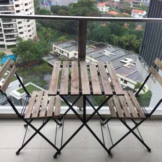 Outdoor Table & Chairs tarno Ikea