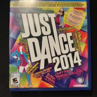 JUST DANCE 2014 PS4 (used)