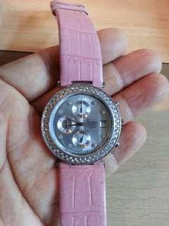 FACELOOK 闪石 六針 日曆 計時 手錶