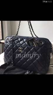 Authentic Chanel Quilted Classic Handbag