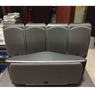 JBL SCS200 5 Satellite/Bookshelf  speakers (100watts per speaker)!