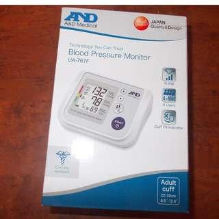 A and D Blood Pressure Monitor UA-767F