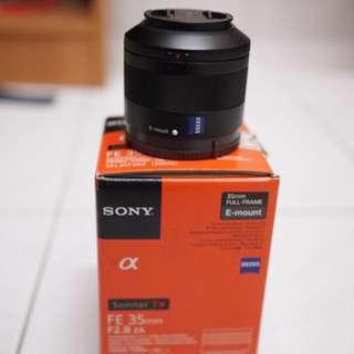 Sony zeiss 35mm f2.8