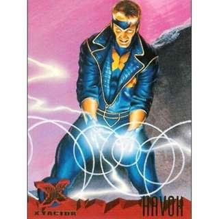 1995 Marvel Fleer Ultra Base Card #107 - Havok