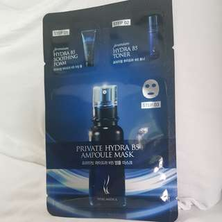 Private Hydra B5 Ampoule Mask 3 step