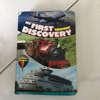 My first discovery vroom book