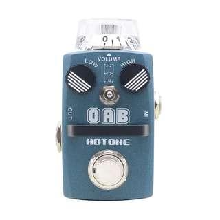 Hotone CAB Cabinet Simulator Guitar Effect Pedal