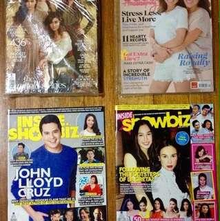 KathNiel/Kathryn Bernardo/Daniel Padilla/Julia Barretto/Gretchen Barretto magazines