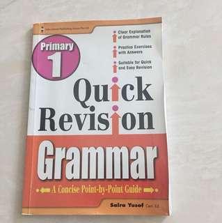 P1 quick revision- grammar