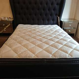 Near new Queen size bed