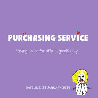 [NOTICE] KOREAN GOODS PURCHASING SERVICE