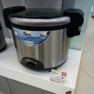 Kredit Rice Cooker Jumbo Warmer Oxone Tanpa DP