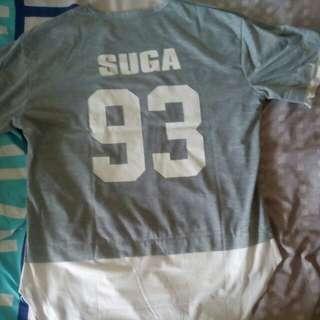 BTS Suga Tshirt