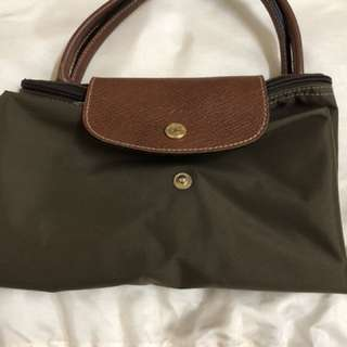 Longchamp Le Pliage * medium short handle