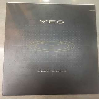 "Yes ‎– Owner Of A Lonely Heart, 12"" Single Vinyl, ATCO Records ‎– 79-6976-0, 1983, Germany"